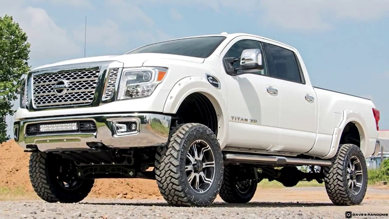 Lifted Nissan Titan >> Lifted 2017 Nissan Titan XD - YouTube