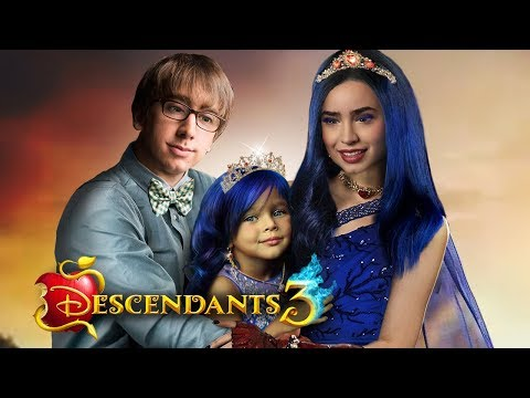 descendants-3:-evie-and-doug-have-a-daughter!-and-she-is-a-princess!-?❤️-edit!
