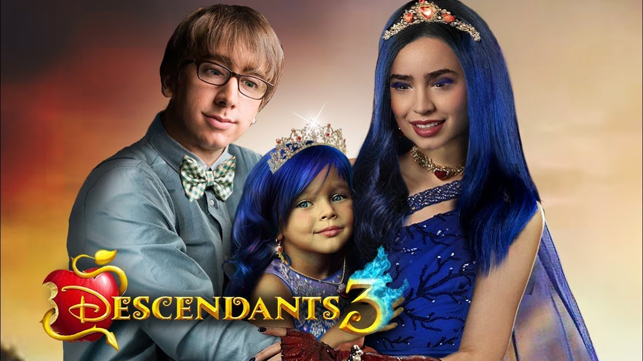 descendants 3 evie and doug have a daughter and she is a. Black Bedroom Furniture Sets. Home Design Ideas