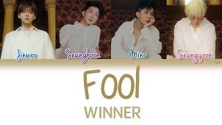 WINNER 위너 Fool Han Rom Eng Color Coded Lyrics