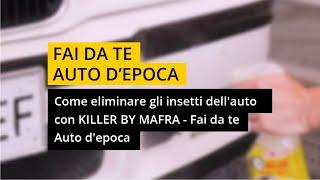 Come eliminare gli insetti dall'auto con Killer by Mafra - Il fai da te del collezionista.