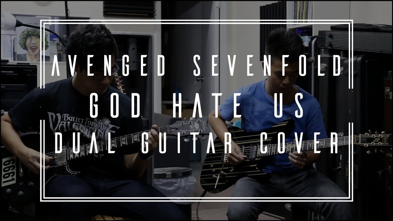 how to play god hates us on guitar