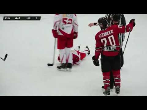 Daniel Stollery Hockey Highlights (Red Jersey #20) - Oct 30, 2019