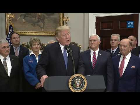 Download Youtube: Presidential Space Policy Directs NASA to Return Humans to Moon