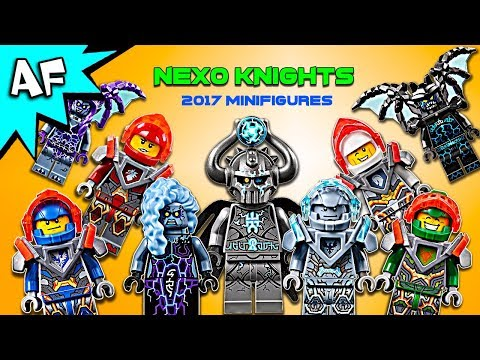 Lego Nexo Knights Minifigure Collection 2017 как поздравить с днем