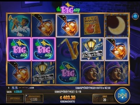 The Big Easy Slot - 18 spins 10x Multiplier!