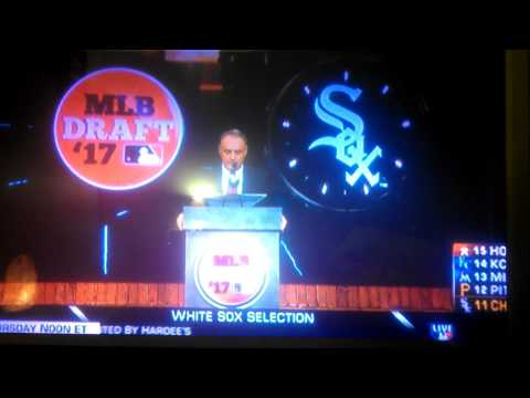 Chicago White Sox select Jake Burger