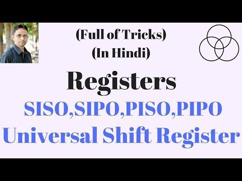 Universal Shift Registers (Digital Electronics-63) by SAHAV SINGH YADAV