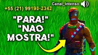 Revelei O WhatsApp Do Canal Intenso Após Esse Desafio No Fortnite..