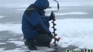 Экстремальная рыбалка в метель !