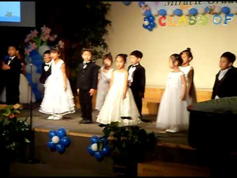 Heaven's graduation of Miracle land preschool part 2