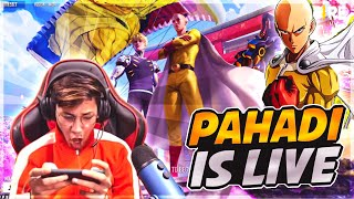 Free Fire Live  With Pahadi || Solo vs Squad - Garena Free Fire