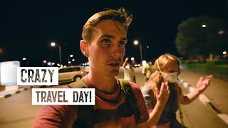 Travel Nightmare During Pandemic | Held at the Border  ? (Oman to Dubai Bus Ride)