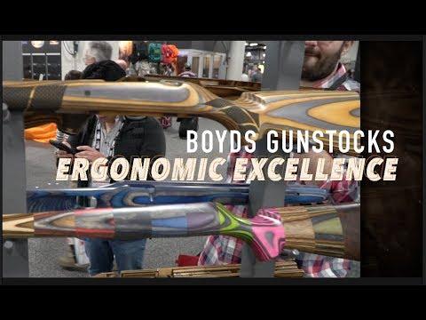 Boyds GunStocks Ergonomic Excellence-SHOT Show 2018