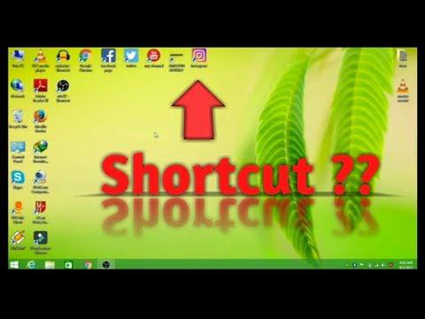 Creat Shortcut For Any Websites Like Facebook,Google,Youtube,On Desktop