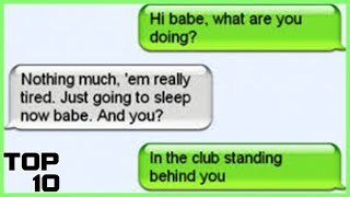 Top 10 Funniest Text Message FAILS