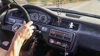 🔰 HONDA CIVIC EG SWAP MOTOR K20 INSANE ACCELERATION 0-200 / PURE SOUND