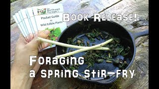 Foraging a Spring Stir-Fry & New Book Release!