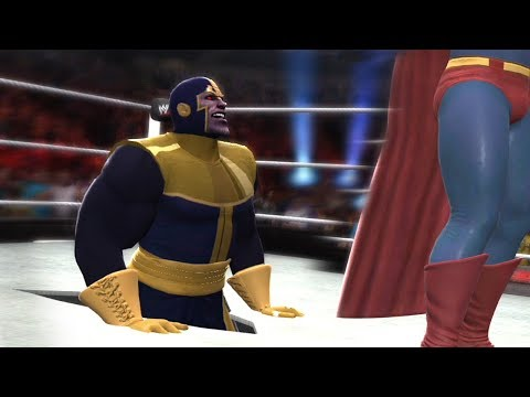 SUPERMAN VS THANOS - Hell In A Cell Match