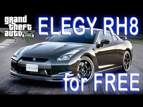 gta online how to get free super sports car personal vehicle elegy rh8 grand theft auto v 5. Black Bedroom Furniture Sets. Home Design Ideas