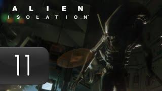 Mr. Odd - Let's Play Alien Isolation [BLIND] - Part 11 - Kaboom [HARD]