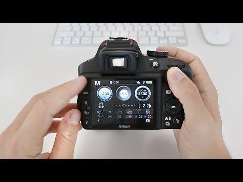 Nikon D3400 Tutorial For Beginners (Buttons, Dials & Settings)
