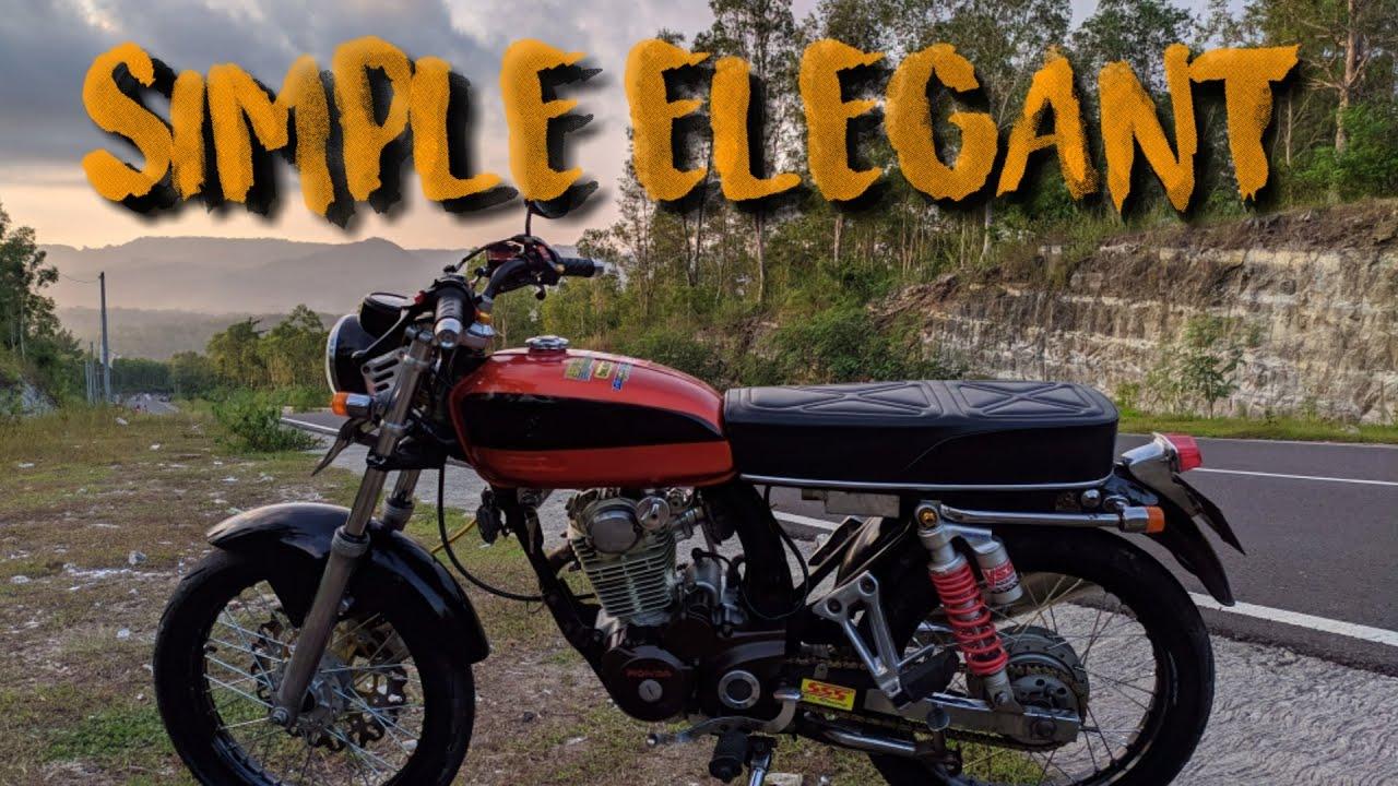 Review Honda CB Merah Gas terbang