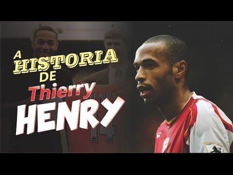 Conheça a HISTÓRIA de THIERRY HENRY