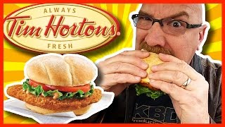Tim Hortons Spicy Crispy Chicken Sandwich And Drive Thru Experience