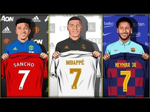 Top 10 Transfer Targets Summer 2020! Transfer News Ft Mbappe Sancho Neymar