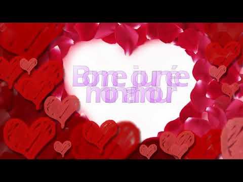 Vidéo animée: Bonjour, mon amour!