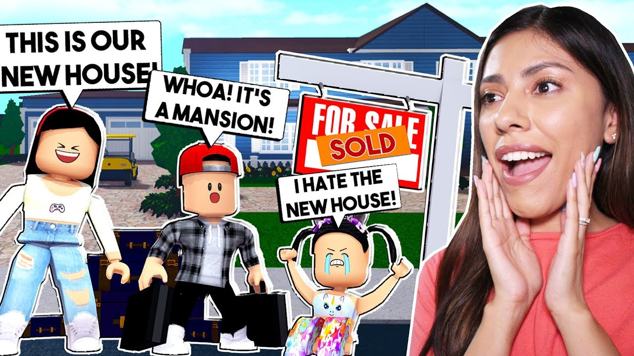 Moving Into Our New House My Daughter Hates It Roblox