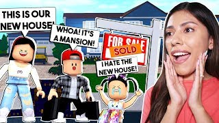 UMZUG IN UNSER NEUES HAUS! *MY DAUGHTER HATES IT!* - Roblox - Bloxburg