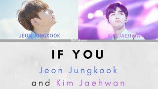 IF YOU- BTS Jeon Jungkook & Wanna One Kim Jaehwan