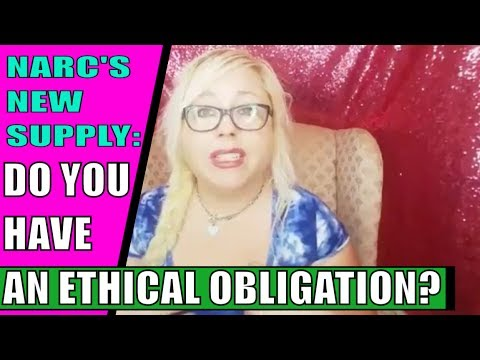 Your Ex Narcissist's New Supply: Ethical obligation to warn new supply of toxic abuse?