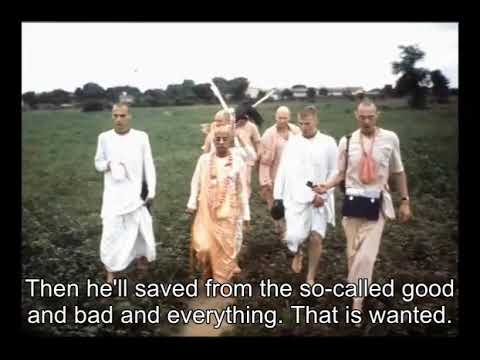 Prabhupada 0757 - He Has Forgotten God. Revive His Consciousness - That is Real Good