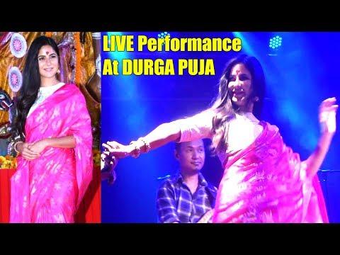 Kartrin Kaif's LIVE DANCE Performance At Dussehra Durga Puja 2018   Dussehra Celebration 2018