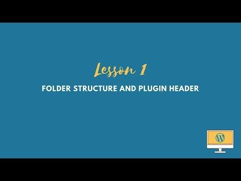 WordPress Plugin Tutorial: Folder Structure and the Plugin Header thumbnail