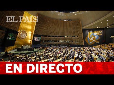 En directo, TRUMP y PEÑA NIETO en la Asamblea General de la ONU