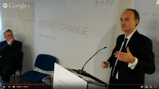 Dominic Cummings speech at IPPR - The Hollow Men (2014)