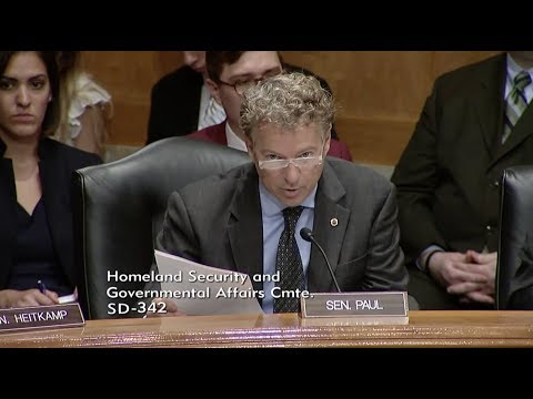 Sen. Rand Paul to DHS: Bill of Rights should protect Americans returning from overseas - 6/6/17