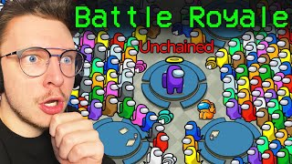 Among Us AVEC LE NOUVEAU MODE BATTLE ROYALE ! (incroyable)