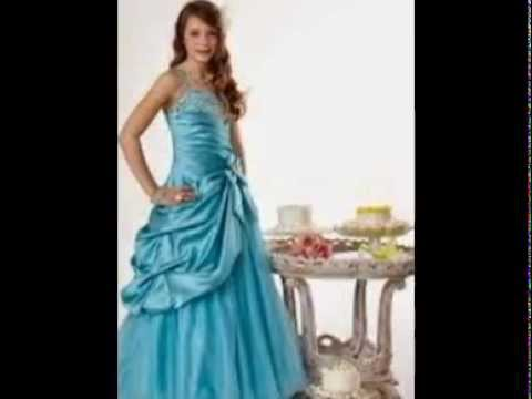 Long Dresses For Girls - YouTube