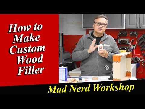 Custom Wood Filler *Mad Nerd Workshop *