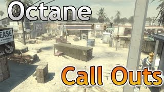 COD Ghost Map Callouts: Octane (MLG Competitive Map)