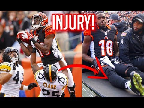 NFL Injuries While Scoring A Touchdown || HD Pt 2