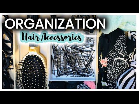 Organization: Hair Accessories Drawer | Watch Me Organize | Organization on a Budget | Organization