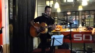 Matthew K Heafy (Trivium) - Dawn Of A New Day (In Flames) Solo Acoustic Gig at 2112 Gothenburg