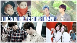 [TOP 15] POPULAR SHIPS IN KPOP || POLL RESULTS ||