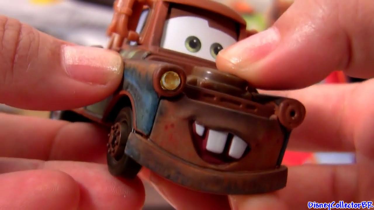 Talking Mater Lights And Sounds Disney Cars 2 Pixar Mattel Toys